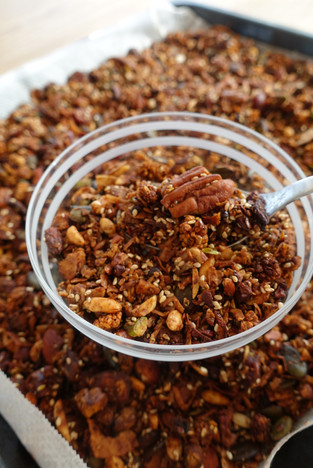 Chocolate Orange Granola - Low Carbohydrate, High Taste