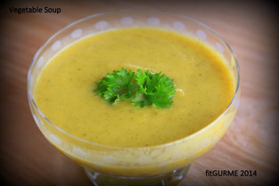 Pure Green Vegetable Soup