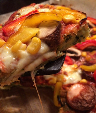Low-Carb & High-Fun, Zucchini Base Pizza!