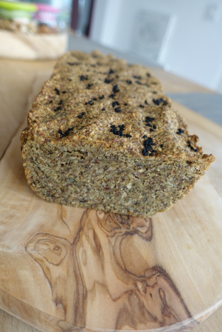Nutty Seedy Bread, grain-gluten-dairy free!