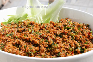 KISIR (bulgur), my most favorite recipe among Turkish Cuisine!