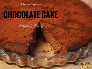 Chocolate Cake, gluten and sugar free, delicious and irresistible!!