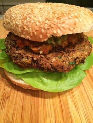 Nutritiously Delicious Veggie Burger!