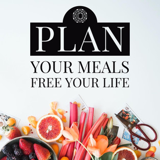 Plan your Meals, Free you Life!