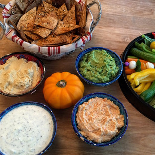 Healthy Delicious Dips For Weekend Parties!