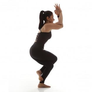 My favorite core workout with Garudasana, Eagle pose!