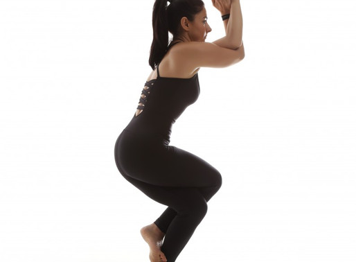 My favorite core workout with Garudasana, Eagle pose!