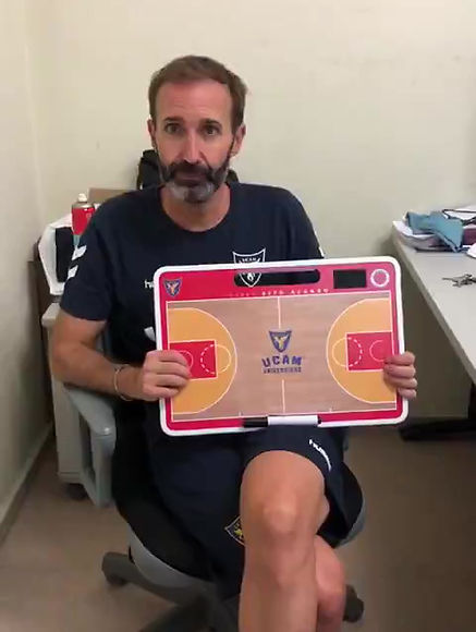 Coach Sito Alonso with his Coachboards.com