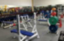 Kingdom gym weights department