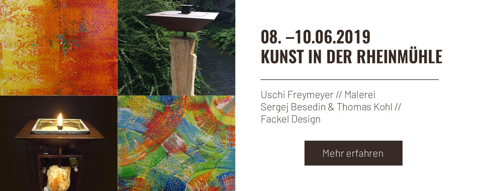 Kunst in der Rheinmühle