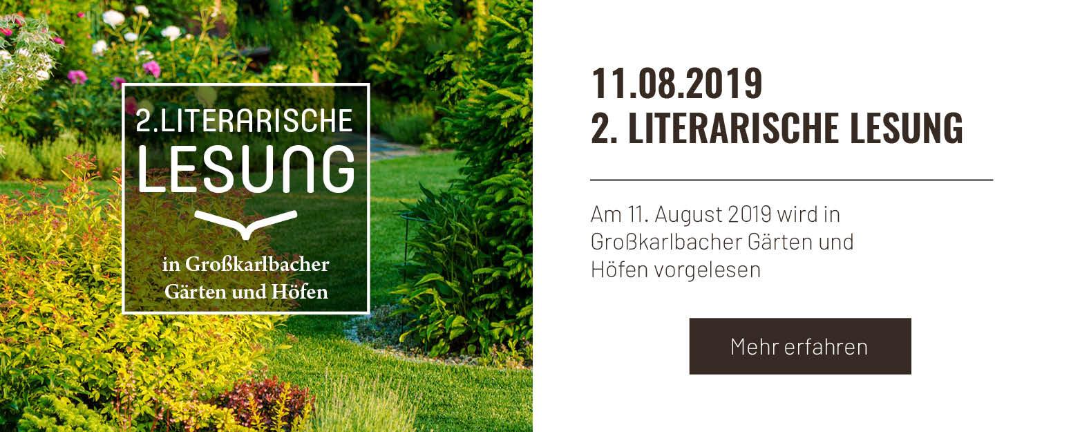 2. Literarische Lesung