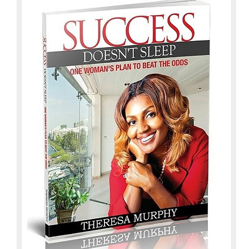 Signed Copy of Success Doesn't Sleep Book