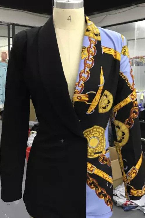 Two tone blazer/jacket