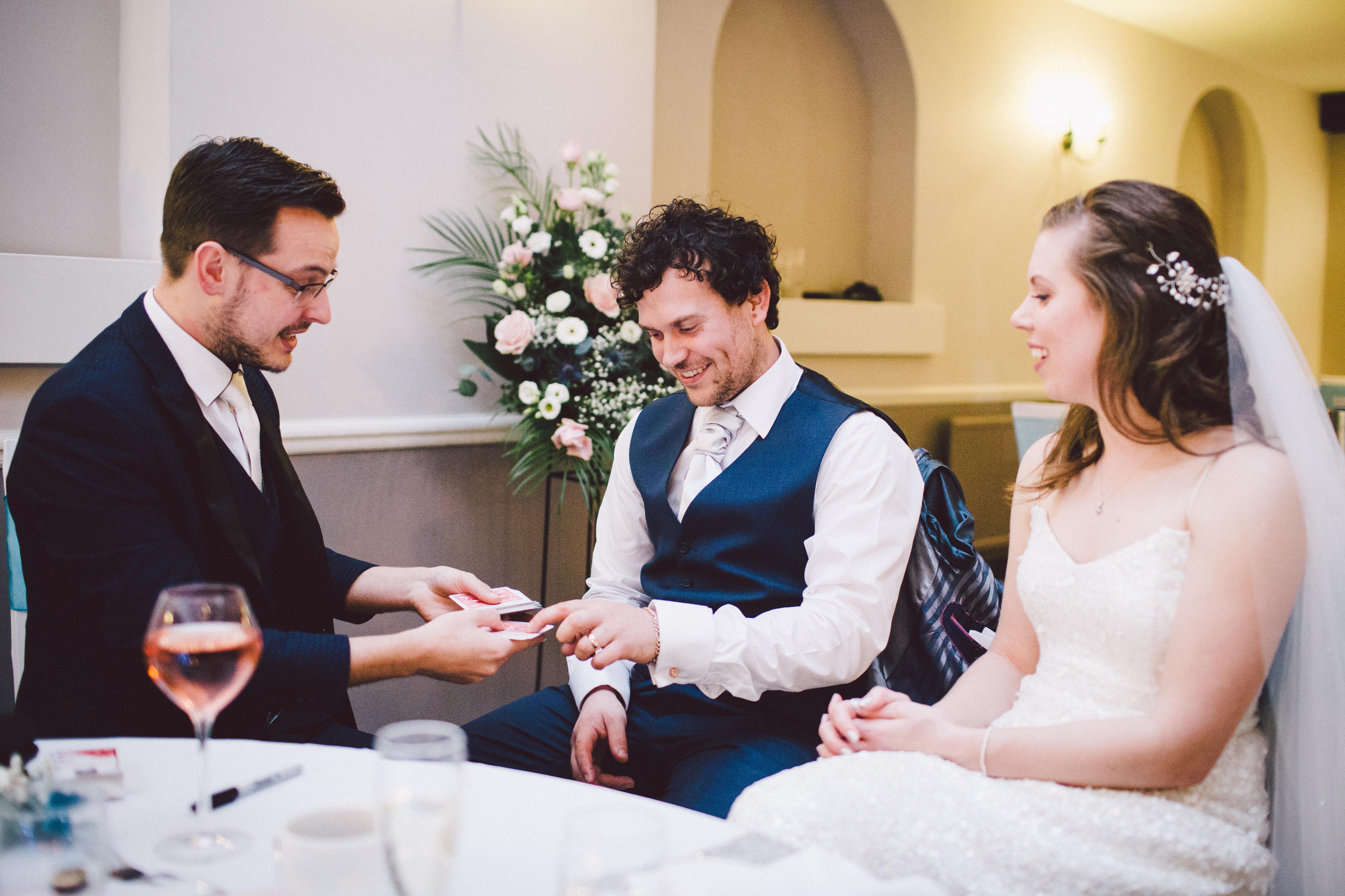 Wedding Magician Jack Dent AIMC