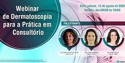 Webinar de Dermatoscopia para prática em consultório