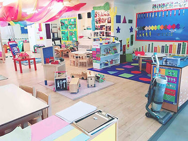 Sahan Nursery preschool room