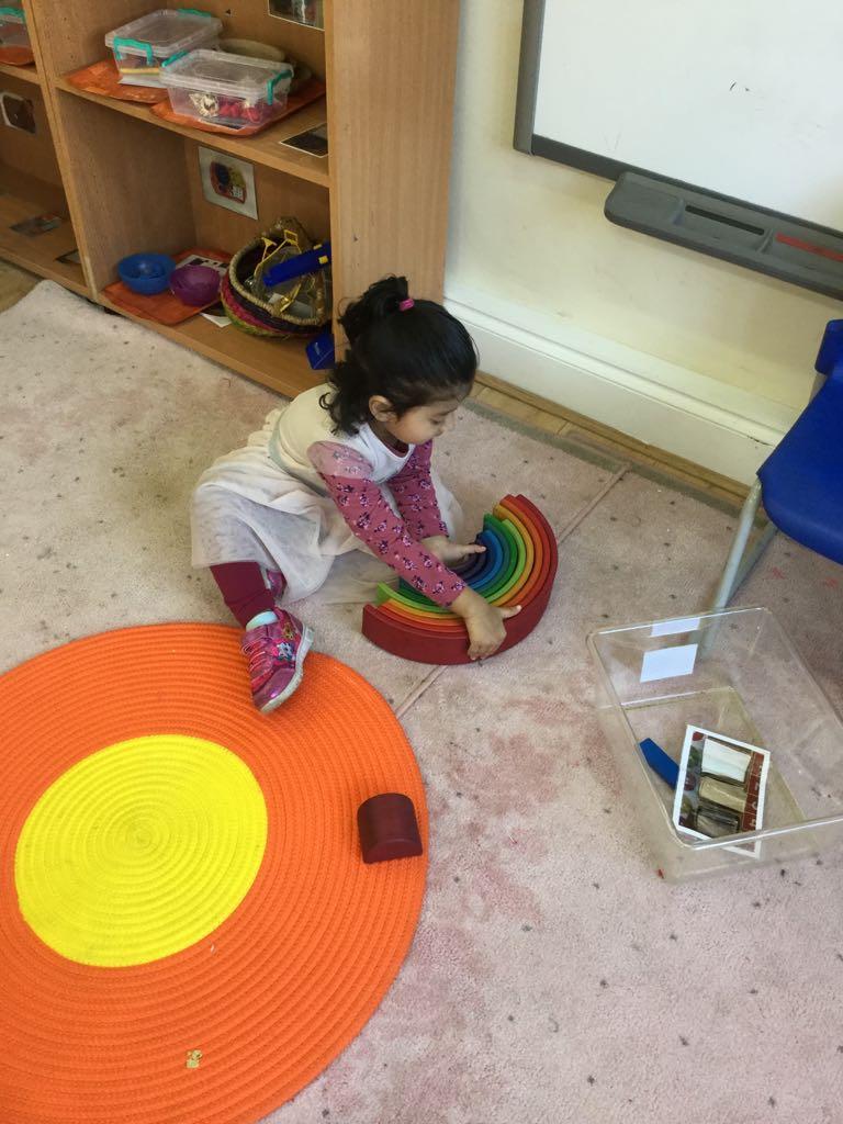 Activity in Sahan Nursery Preschool