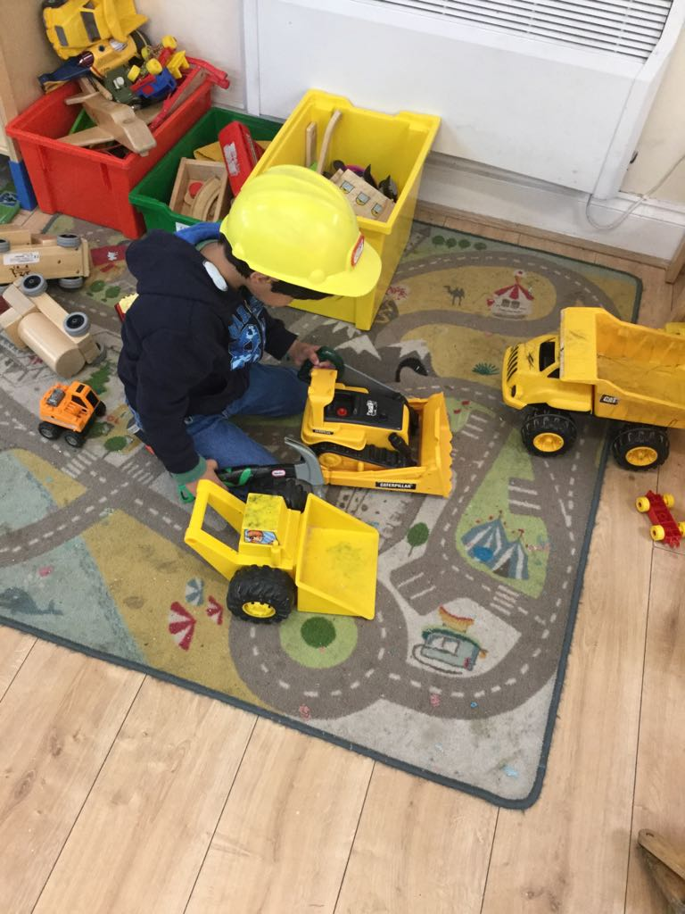 Builders Roleplay in Sahan Nursery