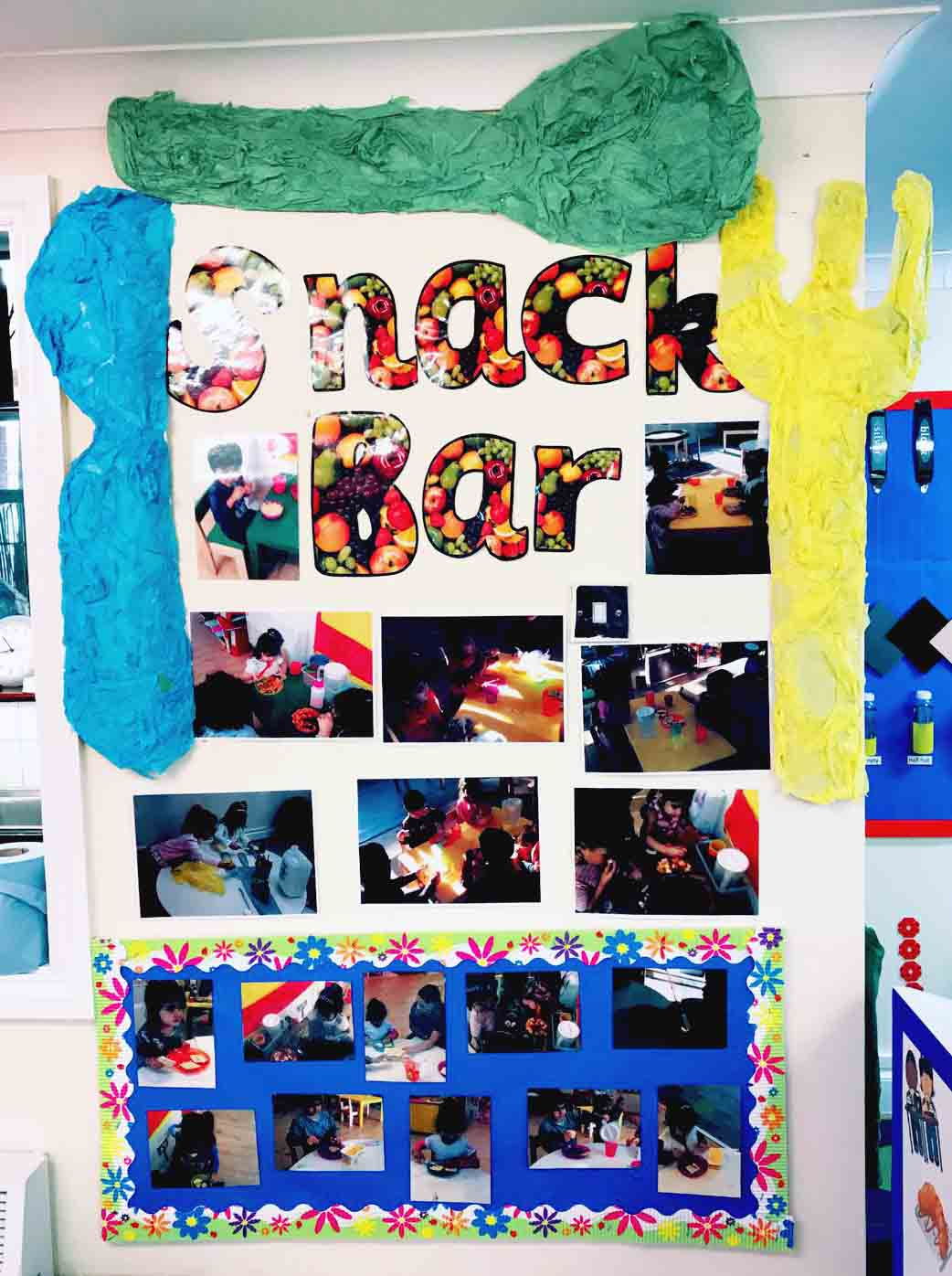 Sahan Nursery Display Board Snack Bar