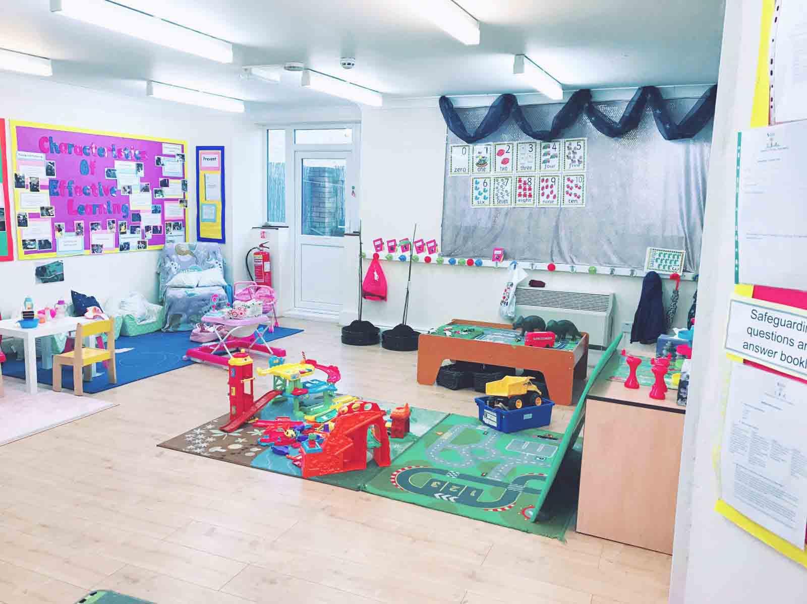 Sahan Nursery Learning Area