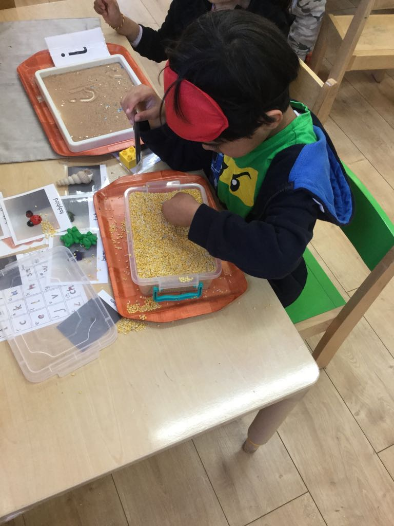 montessori Activity in Sahan Nursery