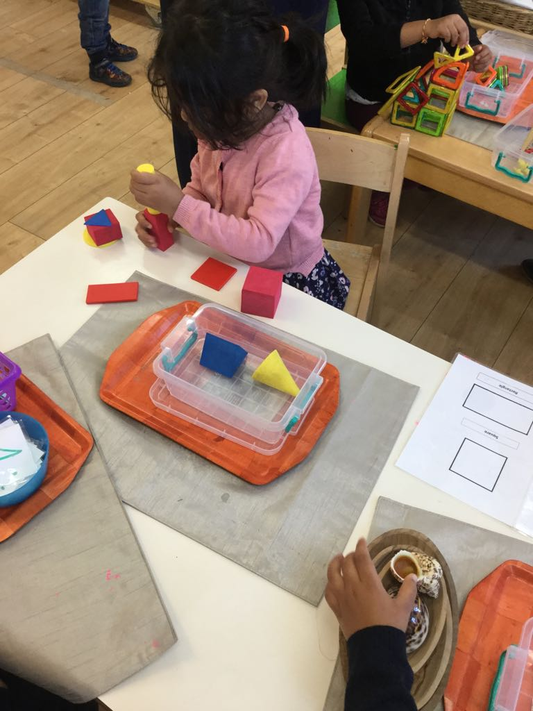 Shapes finding Activity in Sahan Nursery