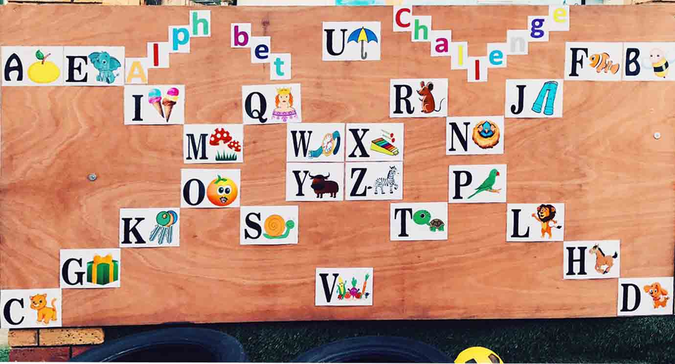 Sahan Nursery Display Board Alphabet Display