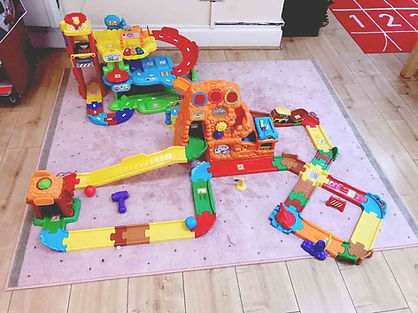 Sahan Nursery car track for toddlers