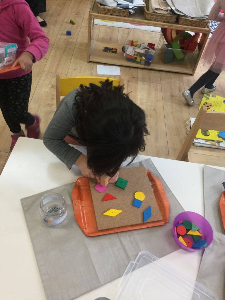 Shapes Activity in Sahan Nursery