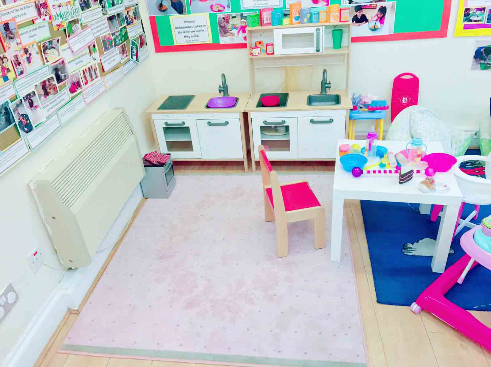 Sahan Nursery Learning Area Home Corner