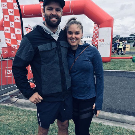 [ MS Charity 50km Ride ]_We made it! 50