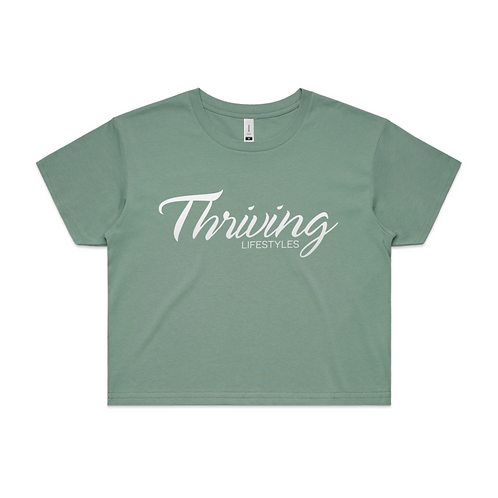 Women's Thriving Crop Tee