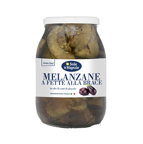 Roasted Eggplants in Oil