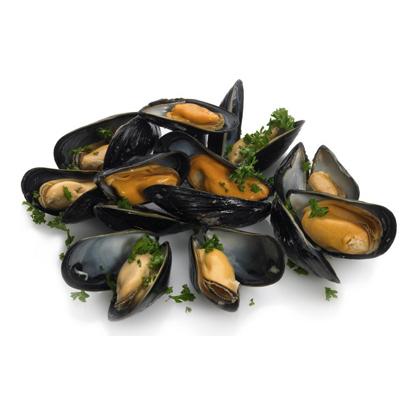 Frozen Mussels (Whole Shells)
