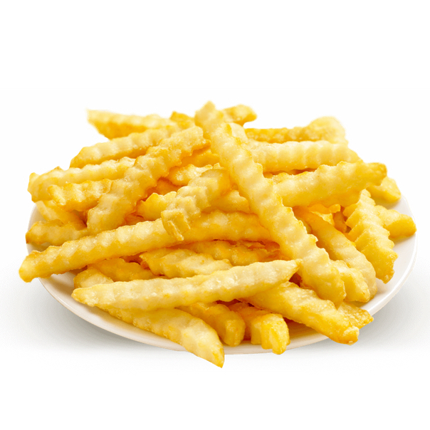 French Fries Crinkled