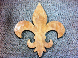Custom stone cut outs