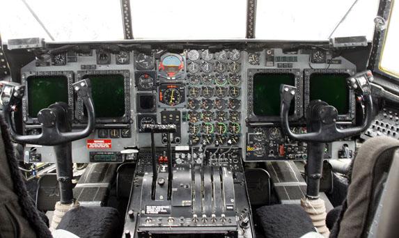 MC-130H Instrument Panel