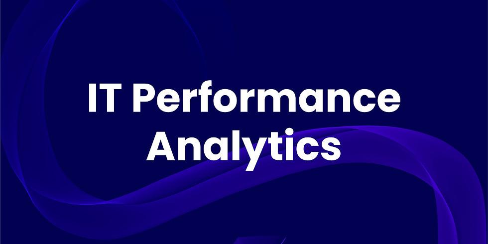 IT Performance Analytics Webinar