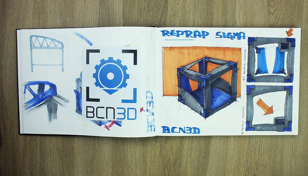 prima BCN3D Sigma - design