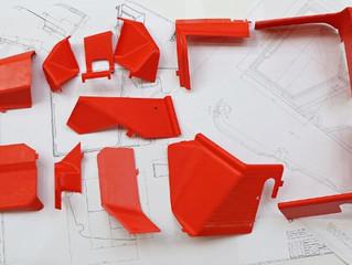 Imprimarea 3D a unei carcase utilizate intr-un vehicul agricol