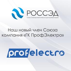 Новый член РОССЭД - ГК ПрофЭлектро