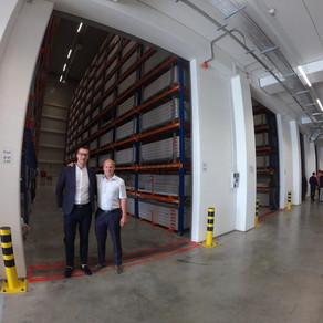 Открытие склада KOPOS в Чехии