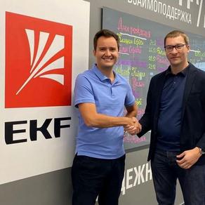 Встреча с компанией EKF