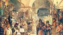 Far, far to the bazaar