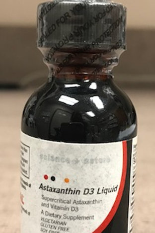 ASTAXANTHIN D3 5,000IU LIQUID