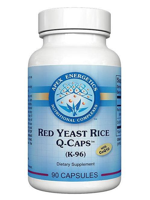 RED YEAST RICE Q CAPS WITH COQ10(K-96) 90 CAPS