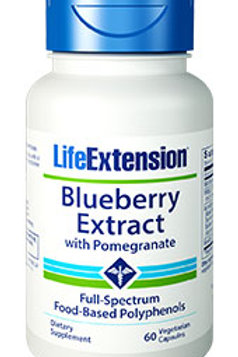 BLUEBERRY EXTRACT WITH POMEGRANATE 60 CAPS