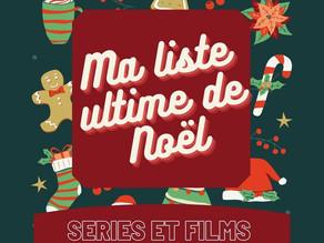 Ma liste ultime de Noël ! 🎄 1ère partie : séries et films.