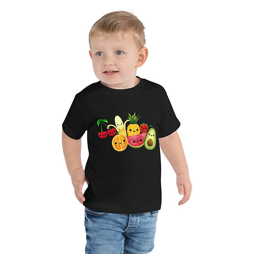 Toddler Short Sleeve Tee - Food Party