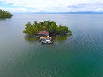 Small Island in Caribbean Sea, Bocas del Toro, Panama